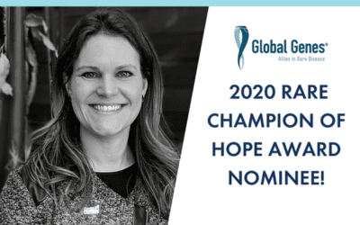 2020 – Rare Champion of Hope Award Nominee