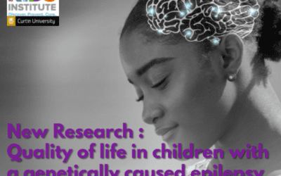 Quality of life in children with a genetically caused epilepsy disorder